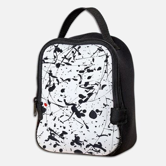 Paint Drips Neoprene Lunch Bag
