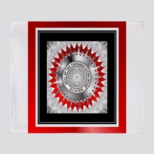 Cherokee Nations Throw Blanket