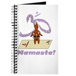 Namaste Fox Yoga Handstand Journal