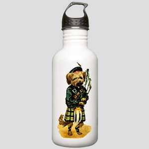 Scottish Terrier playi Stainless Water Bottle 1.0L