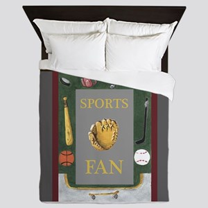 Sports Fan Equipment Border by Kristie Hubler Quee