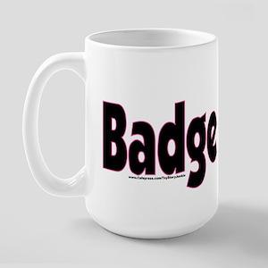 Badge Bunny Large Mug