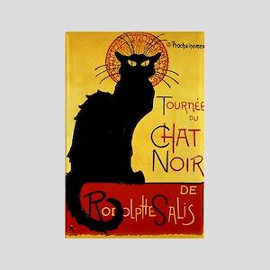 Vintage Tournée du Chat Noir, The Rectangle Magnet