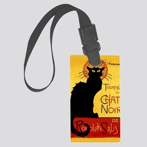 Vintage Tournée du Chat Noir, Th Large Luggage Tag