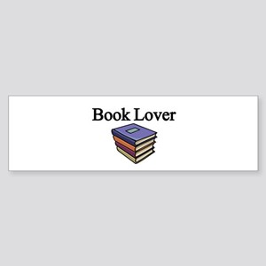 Book Lover Bumper Sticker