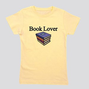 Book Lover Girl's Tee