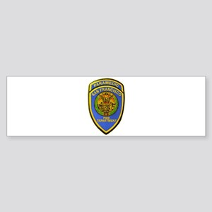 San Francisco Paramedic Bumper Sticker