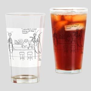 praying mantis bar Drinking Glass