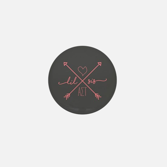Alpha Sigma Tau Little Arrows Mini Button