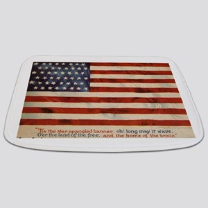 The star spangled banner Bathmat