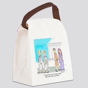Pliny Younger and Elder Canvas Lunch Bag
