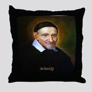 Saint Vincent de Paul Throw Pillow