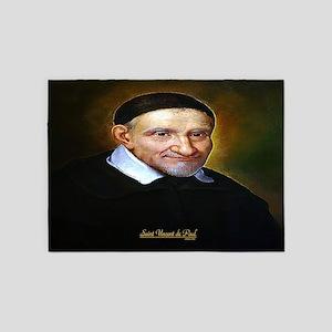 Saint Vincent de Paul 5'x7'Area Rug