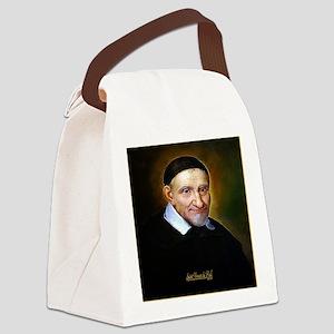 Saint Vincent de Paul Canvas Lunch Bag