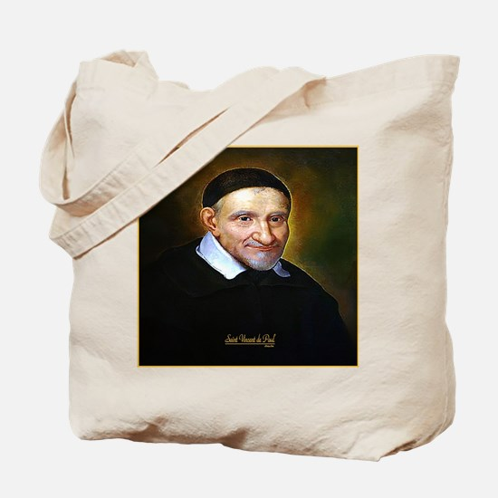 Saint Vincent de Paul Tote Bag