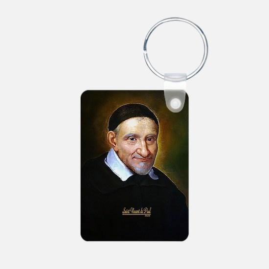 Saint Vincent de Paul Keychains