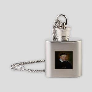 Saint Vincent de Paul Flask Necklace