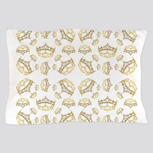 68 queen of hearts crowns Pillow Case
