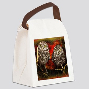 The Burrowing Owls Canvas Lunch Bag