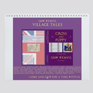 Village Tales: Cross & Poppy Wall Calendar