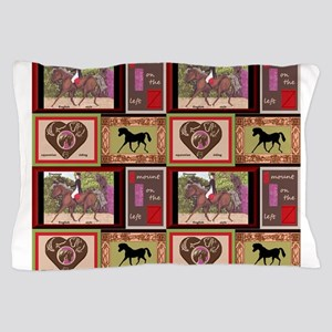 Dressage Horses Pillow Case