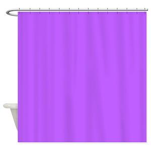 Solid Color Purple Shower Curtains