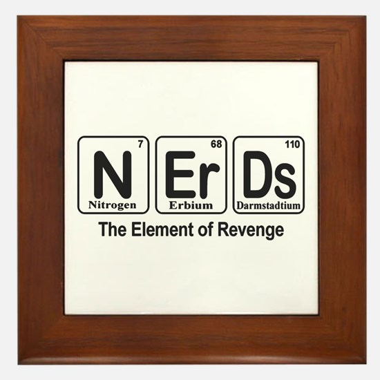 NErDs Framed Tile