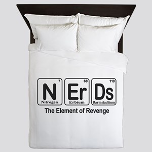 NErDs Queen Duvet