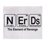 NErDs Throw Blanket