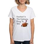 Gateway Drugs Women's V-Neck T-Shirt