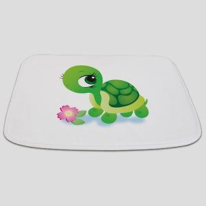 Toshi the Turtle Bathmat