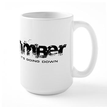 Timber - It's Going Down Large Mug