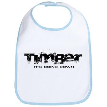 Timber - It's Going Down Bib