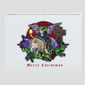 Christmas Fantasy Art Wall Calendar