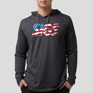 Sigma Nu Sigs Mens Hooded Shirt