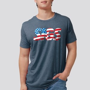 Sigma Nu Sigs Mens Tri-blend T-Shirt