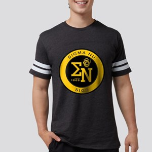 Sigma Nu Badge Mens Football Shirt