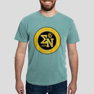 Sigma Nu Badge Mens Comfort Colors Shirt