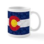 Colorado Pot Leaf Flag 11 oz Ceramic Mug
