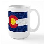 Colorado Pot Leaf Flag 15 oz Ceramic Large Mug