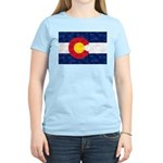 Colorado Pot Leaf Flag Women's Light T-Shirt