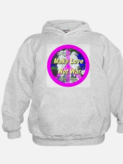 Make Love Not War Hoodie