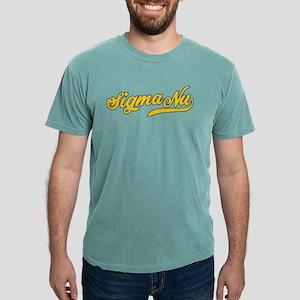 Sigma Nu Script Mens Comfort Colors Shirt