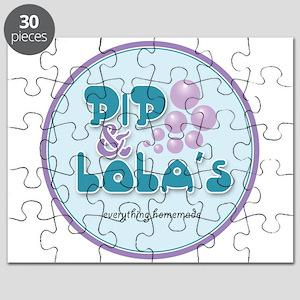 Pip & Lola's Logo Puzzle