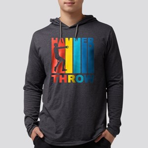 Vintage Hammer Throw Graphic Long Sleeve T-Shirt