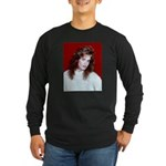 Cathy Red Long Sleeve T-Shirt