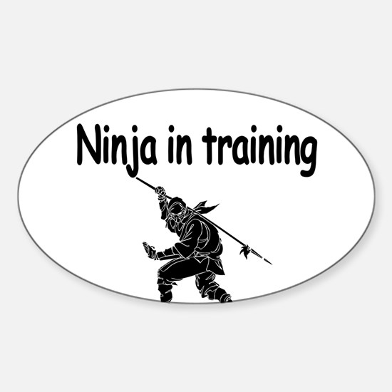Ninja in training Decal