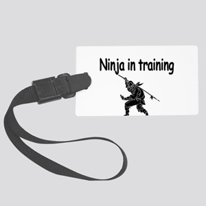 Ninja in training Luggage Tag