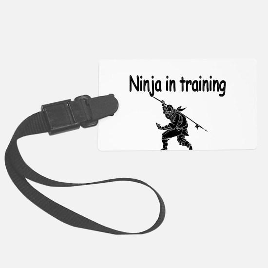 Ninja in training Luggage Tag