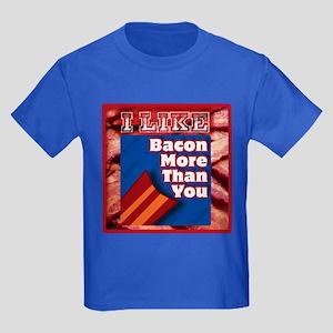 I Like BACON M T Y Kids Dark T-Shirt